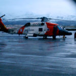 Coast Guard Helo Cold Bay Alaska